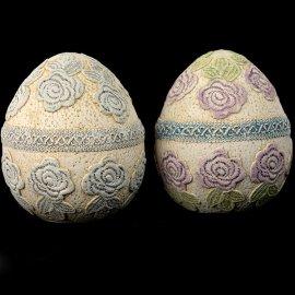 Gipsowe jajko pisanka figurka 18cm