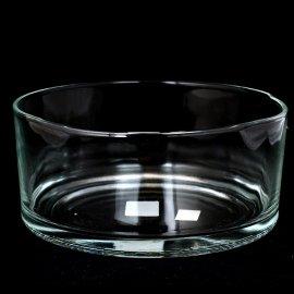 Salaterka Prosta 19cm szklana do warstwowych sałatek