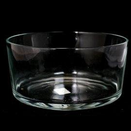 Salaterka Prosta 24cm szklana do warstwowych sałatek