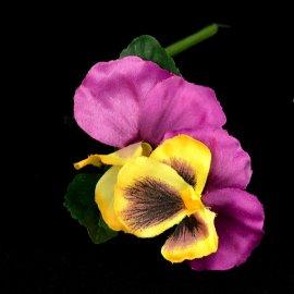Bratek sztuczny kwiat 24cm wiosna.  Do tworzenia wiosennych i Wielkanocnych aranżacji kwiatowych.