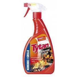 Płyn do czyszczenia szyb kominkowych i grilli Tytan spray 500g