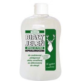Naturalne mydło w płynie 500ml zapas Biały Jeleń