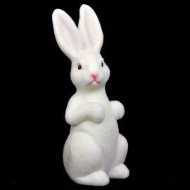 Zajączek biały 22cm Wielkanocna figurka dekoracja