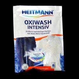 OXI usuwa plamy z tkanin białych i kolorowych Heitmann 50