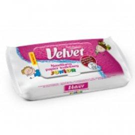 Nawilżany papier toaletowy Junior Velvet 42 szt