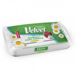 Nawilżany papier toaletowy Rumianek i Aloes Velvet 42 szt