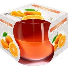 Świeca zapachowa w szkle Pomarańcza 24h Bispol