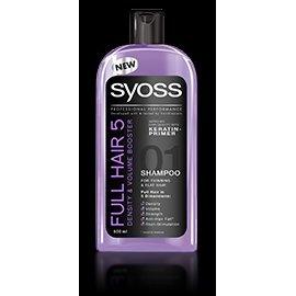 Szampon Full Hair 5 Gęstość i Objętość Syoss 500 ml