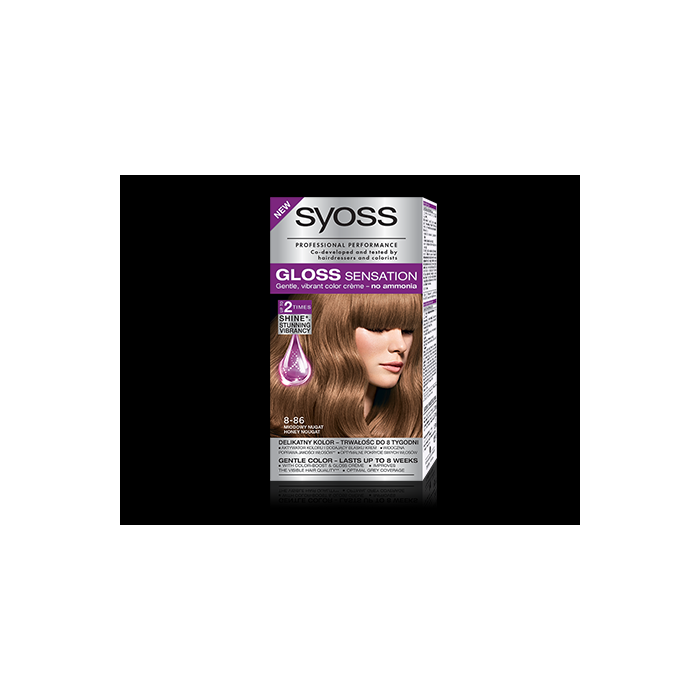 Miodowy Nugat 8-86 Gloss Sensation farba Syoss