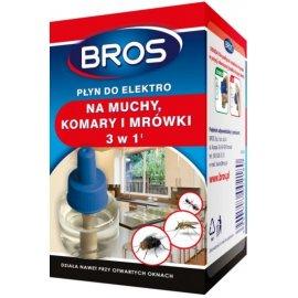Płyn do elektro na muchy, komary i mrówki Bros