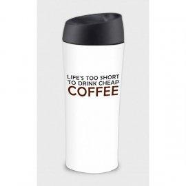 Kubek termiczny termos Happy Ambition Coffee 400