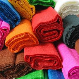 Bibuła marszczona Brązowy 7 Happy Color