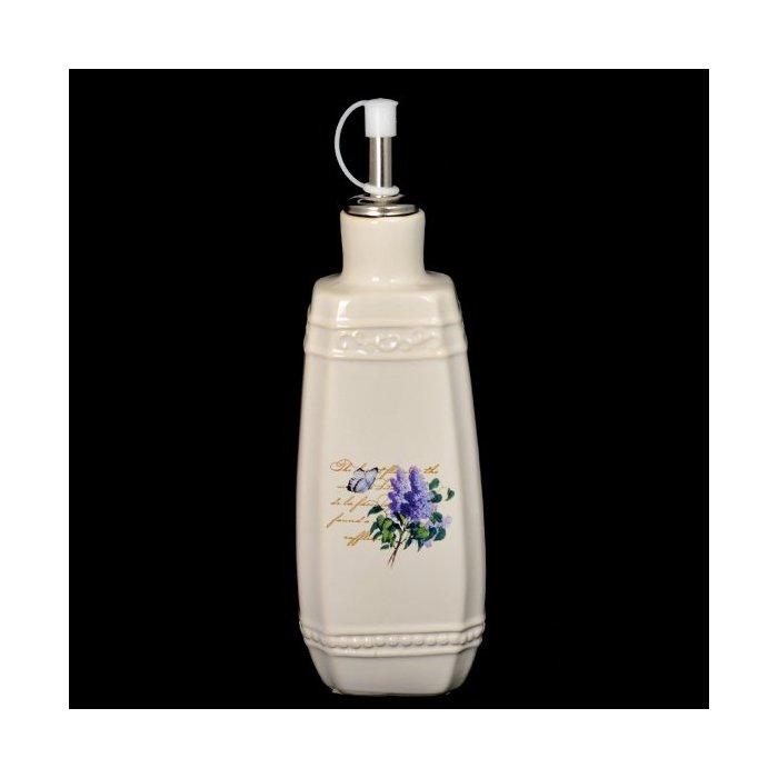 Pojemnik na olej/ocet karafka z kwiatem bzu