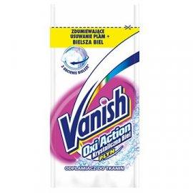 Odplamiacz do tkanin Vanish Oxi Action Krystaliczna Biel 30g