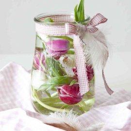 Słoik 1750 ml Tulipan szklany dekoracyjny Weck 738