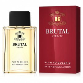 Płyn po goleniu after shave 100ml Brutal classic