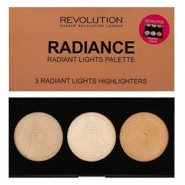 Paletka 3 rozświetlaczy Radiance Makeup Revolution
