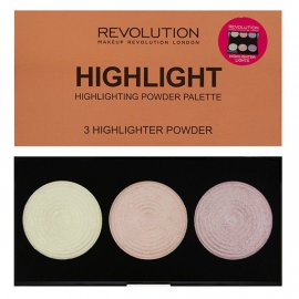 Paletka 3 rozświetlaczy Highlight Makeup Revolution