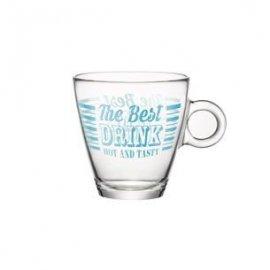 Szklanka do herbaty Vintage 320ml niebieski Bormioli