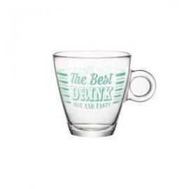 Szklanka do herbaty Vintage 320ml zielony Bormioli