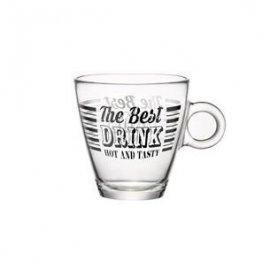 Szklanka do herbaty Vintage 320ml czarny Bormioli