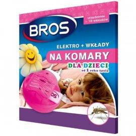 elektro + 10 wkładów na komary dla dzieci od 1 roku Bros