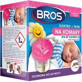elektro + płyn na komary dla dzieci od 1 roku życia Bros