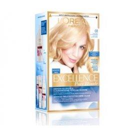 01 Ultra jasny naturalny blond Kremowa koloryzacja Excellence Loreal