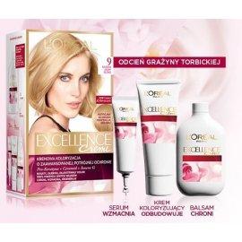 9 Bardzo jasny blond Kremowa koloryzacja Excellence Loreal