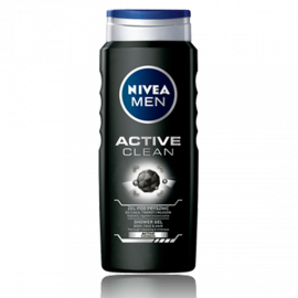 Żel pod prysznic Active Clean NIVEA MEN 500ml