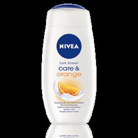 Care & Orange kremowy żel pod prysznic 500ml Nivea