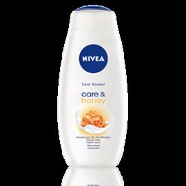 Care & Honey kremowy żel pod prysznic 500ml Nivea