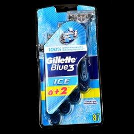 6+2 maszynki do golenia Blue3 Gillette