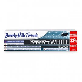 Pasta do zębów Beverly Hills Formula Perfect White Black