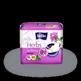 Podpaski Podpaski Bella Herbs wzbogacone kwiatem Verbeny 12szt