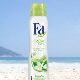 Antyperspirant aerozol fresh&dry green tea FA 150