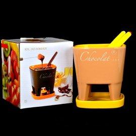 Komplet do fondue czekoladowego dla 2