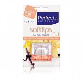 Balsam do ust waniliowy Perfecta Softlips SPF 15