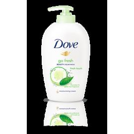 Kremowe Mydło w Płynie Dove Go Fresh – Fresh Touch z Pompką 250