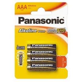 Baterie alkaliczne LR03 1.5V AAA Panasonic 4 Power