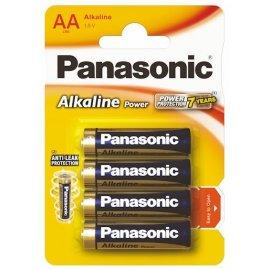 Baterie alkaliczne LR6 1.5V AA Panasonic 4 Power