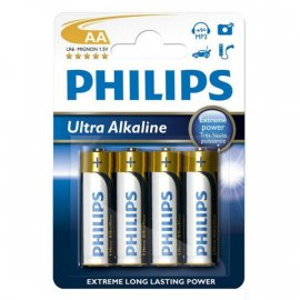 Baterie alkaliczne AA LR6 1.5V 4 Philips Ultra