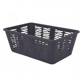 Koszyk Zebra 3 Średni Szary Branq