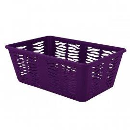 Koszyk Zebra 3 Średni Fioletowy Branq
