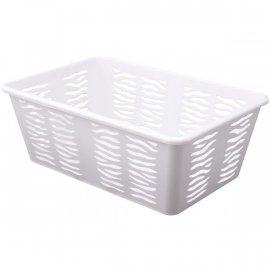 Koszyk Zebra 3 Średni Biały Branq