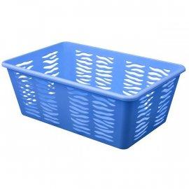 Koszyk Zebra 3 Średni Niebieski Branq