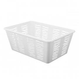 Koszyk Zebra 4 Duży Biały Branq