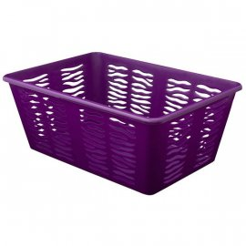 Koszyk Zebra 4 Duży Fioletowy Branq