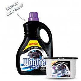 Płyn do prania tkanin ciemnych Perła Woolite 1L