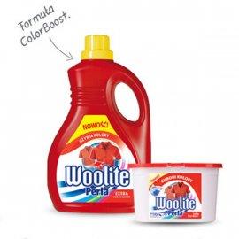 Płyn do prania tkanin kolorowych Perła Woolite 1L